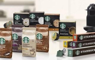 Nestlé начинает продажи кофе и кофейных капсул под брендом Starbucks