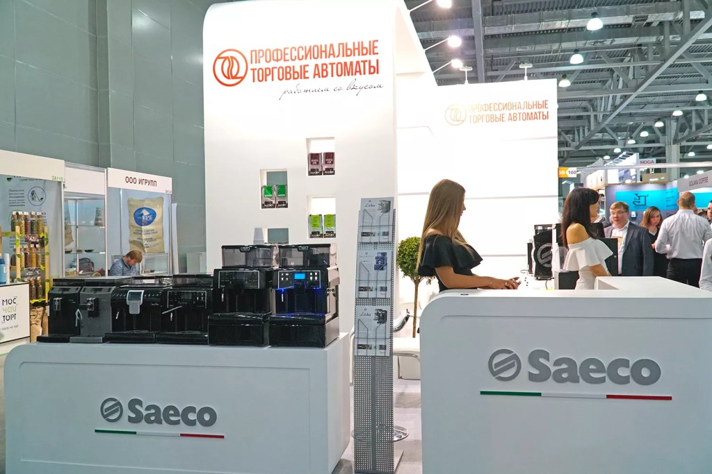 Kit Vending и Saeco на выставке PIR Expo 2019