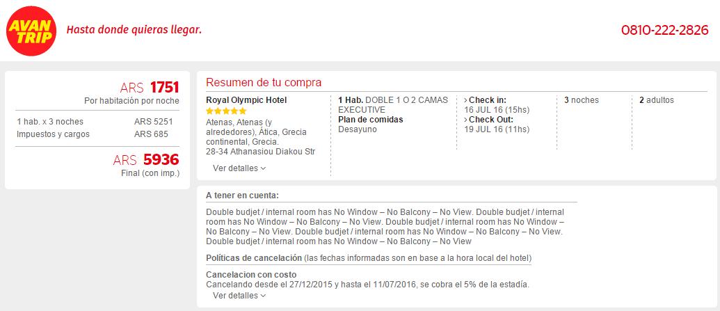 Quiero_Viajes_Hotel_Europa_Avantrip_Sin_Usar_Puntos