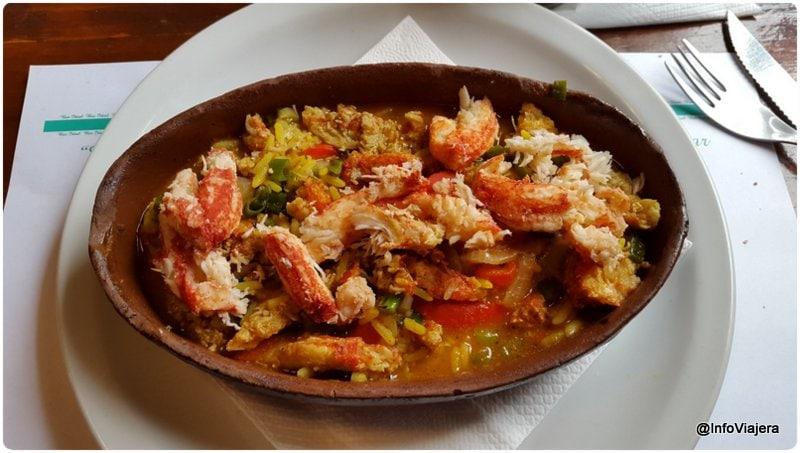 Ushuaia_Bar_Ideal_Centolla_con_arroz
