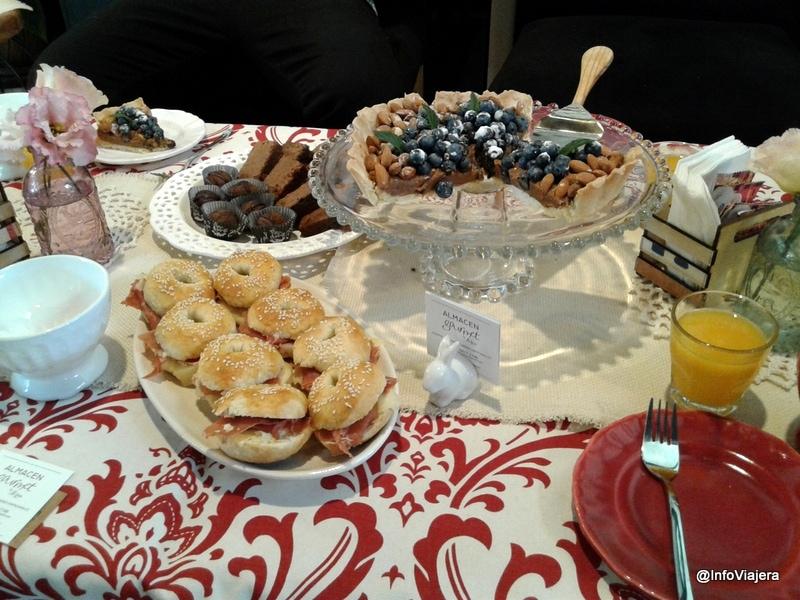 Dulce y salado: las chicas del Almacén nos esperaban con la merienda