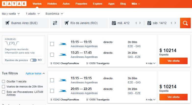 Compro el pasaje aéreo ahora o espero? ¿Saldrá alguna promo