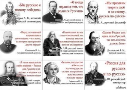Что говорили о России