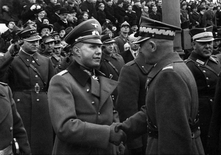 Поляки и немцы