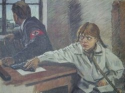 Подвиг Зины Портновой. 13.01.1944 г. была казнена, на допросе она застрелила следователя и еще 2 гитлеровцев