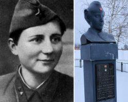 Елена Стемпковская — герой Советского Союза. Лена молчала, даже когда ей отрубили кисти рук