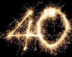 40 лет — почему не принято отмечать? История этого суеверия
