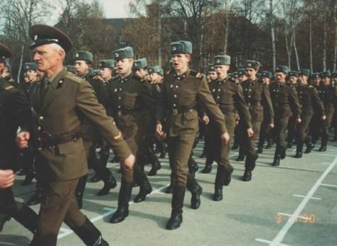 Москвичи в армии