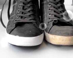 Как отбелить подошву на кроссовках или кедах. Правильные способы