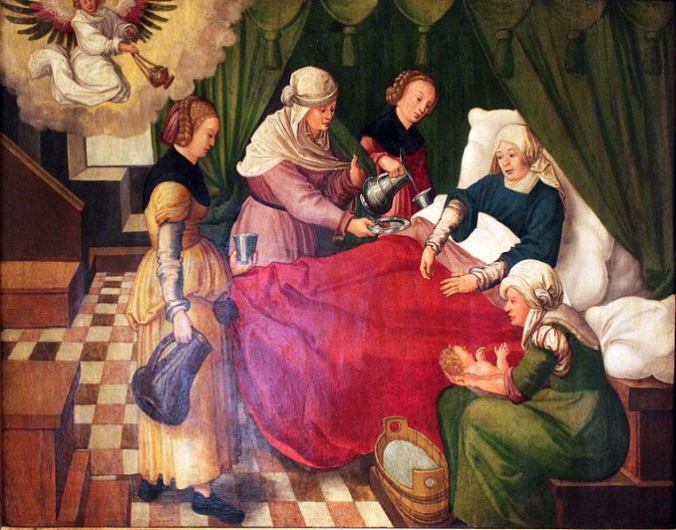 Роды в Средневековье