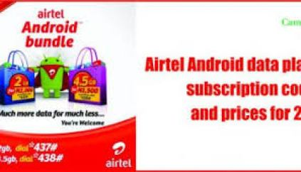 Airtel Data Plans & Subscription Codes