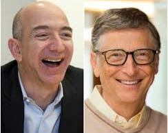 How Jeff Bezos Overtook Bill Gates to Become the Richest Man in the World  Amazon founder Jeff Bezos became the world's richest man on Thursday morning July 27, when the shares of Amazon.com rose by 1 percent, this was enough to make Top Mirco-soft boss Bill Gates, according to a real-time list