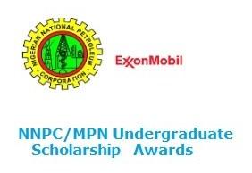 NNPC/MPN Undergraduate Scholarship 2017/2018
