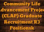 Community Life Advancement Project (CLAP)