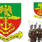 Nigerian Defence Academy (NDA) List of Approved Courses