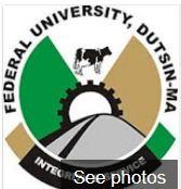Federal University Dustin-MA 2018 Cut off Mark
