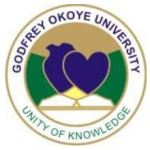 Godfrey Okoye University Admission Form 2018 | How to Apply
