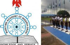 Maritime Academy Oron Cut off Mark