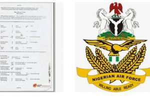 Nigerian Airforce Dssc Past Questions