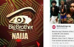 Big Brother Naija Application 2019