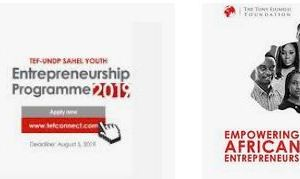 TEF-UNDP Sahel Youth Entrepreneur Shortlisted candidates