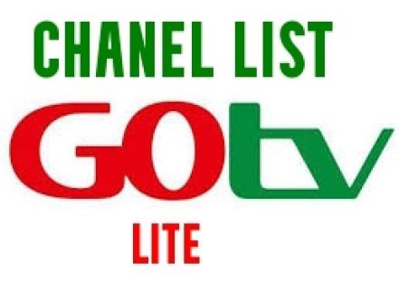 GOTV Lite Channels List 2021