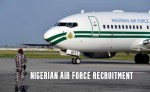 Nigerian Air force Recruitment Closing Dates 2021