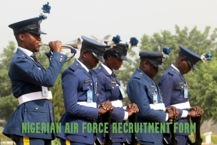 Nigerian Air force Recruitment Form