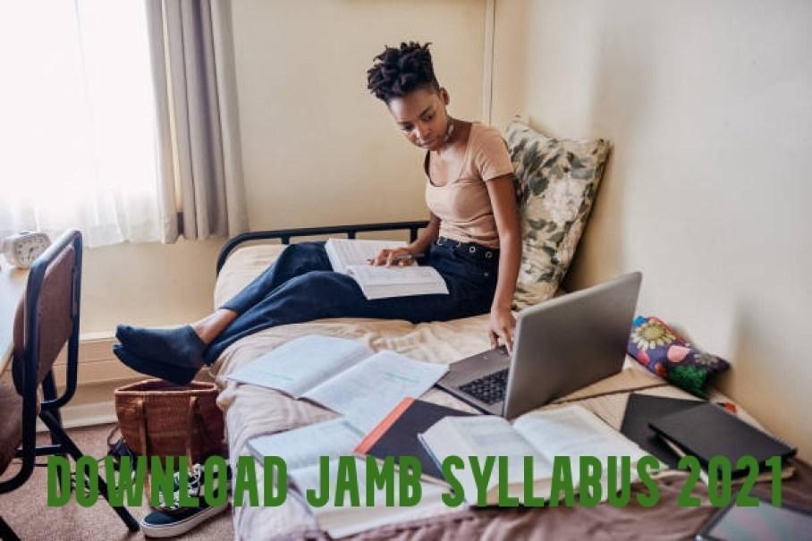 Download JAMB Syllabus