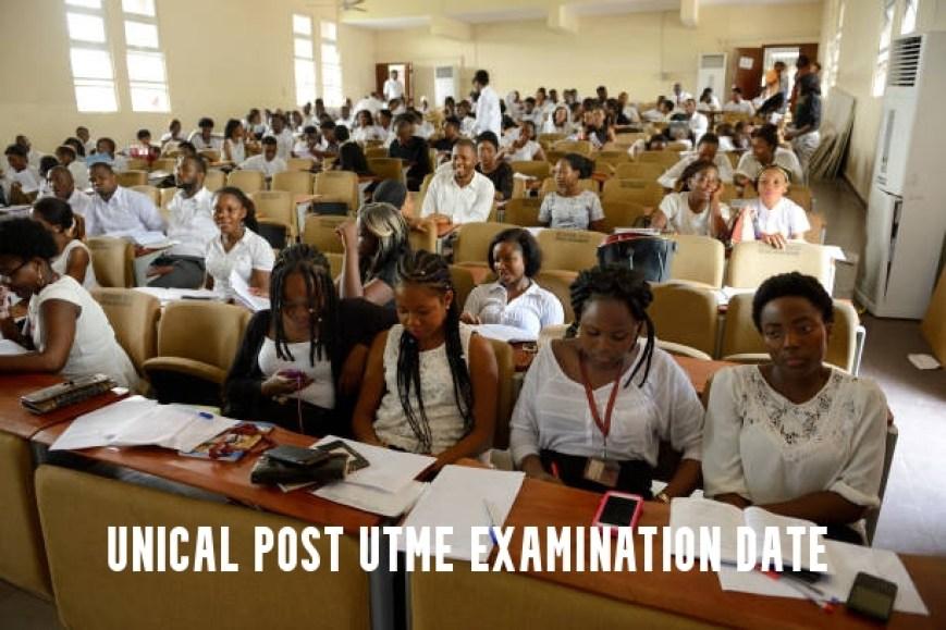 UNICAL Post UTME Examination Date