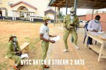 NYSC Batch A Stream 2 Date – NYSC Mobilization Process