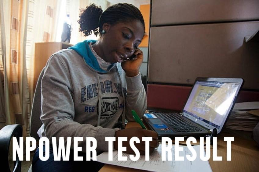 Npower Test Result