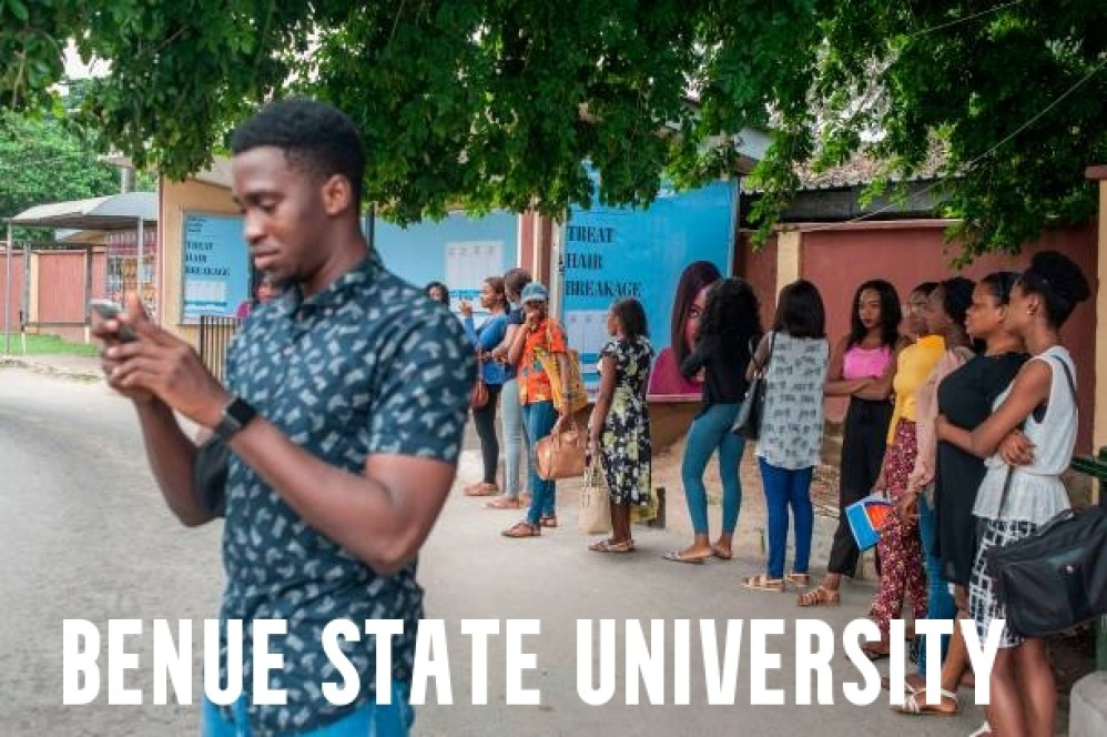 Benue State University Post UTME Past Questions