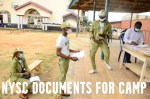NYSC Documents for Camp 2021 Orientation Programme