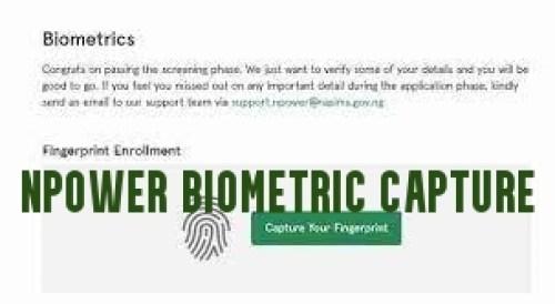 Npower Biometric Capture