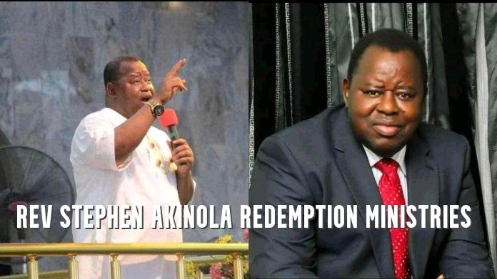 Rev Stephen Akinola Redemption Ministries