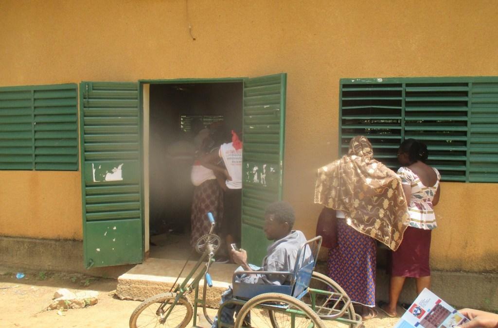 Dépôt pour le PAE/JF: Les personnes handicapées rencontrent des difficultés