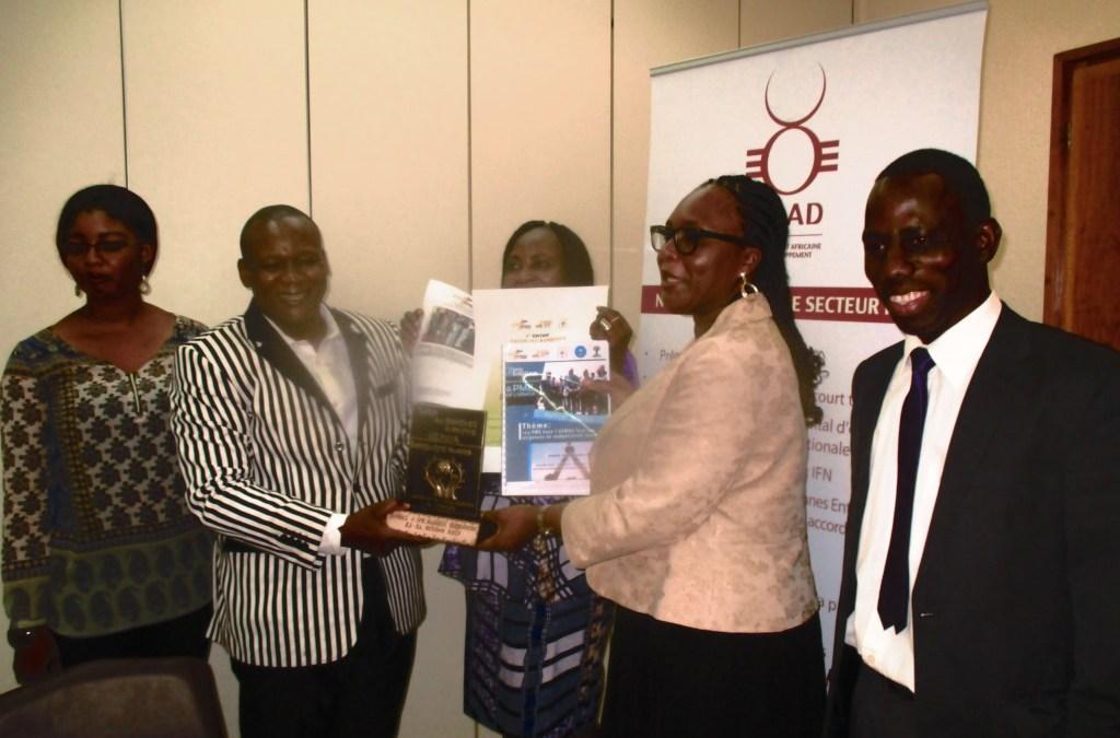 Soutien aux PME : La BOAD reçoit un trophée pour ses actions dans le domaine