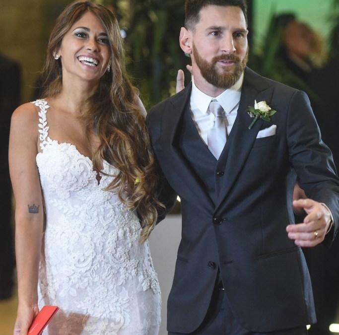 Le mariage de Lionel Messi et Antonella Roccuzzo en image