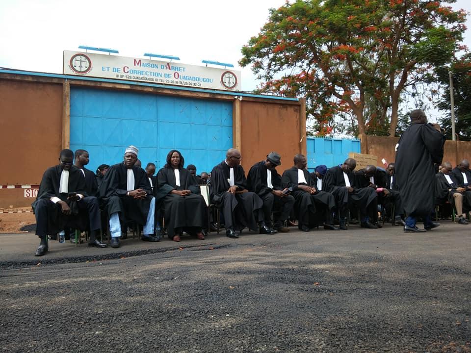 Grève des avocats: «nous sommes tous des prisonniers en sursit» (Me Tougma)