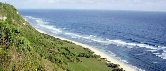 tempat wisata Pantai Nyang Nyang di Bali