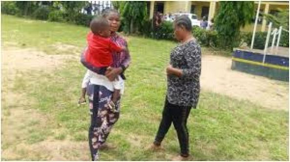 Imo police parade two women for alleged child trafficking, nine ...