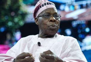Obasanjo prays for Udom, read what he said
