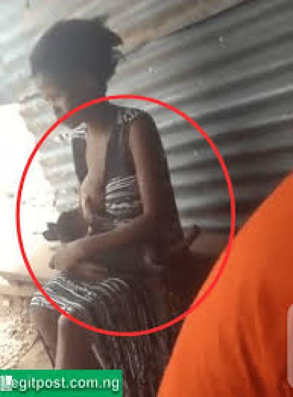 Woman Was Caught Life Breast Feeding A Dog In Public (Video) - Naija Campus  Jams