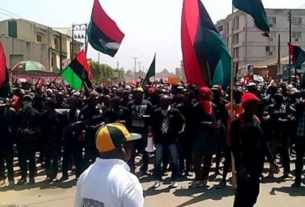 Biafra Groups Declares War, Vows To Attack Aso Rock, others if their leader is not released