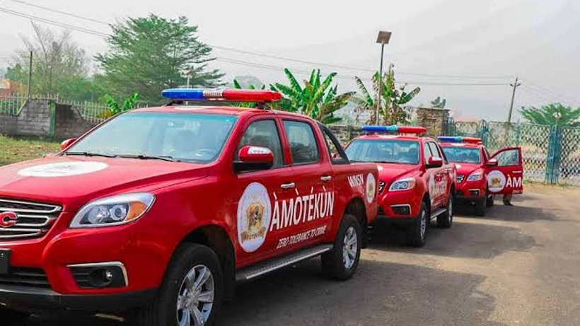 Night Club Ban: Read what Amotekun corps did to 40 vehicles in Ondo state