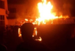 Man sets in-law's house ablaze after his wife did this to him