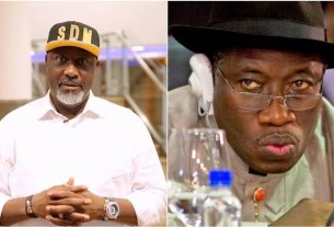 Reaction As Dino Melaye Digs Out An Old Video Of Jonathan Sending A Warning To Nigerians In 2015
