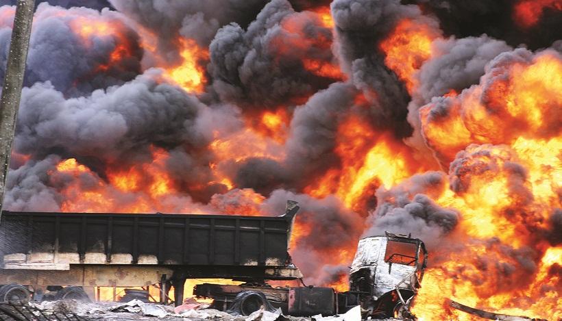 Black Friday in Nigeria as explosion kills many
