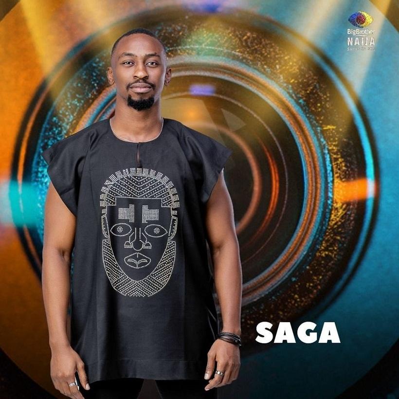 BBNaija: Saga reveals female housemate he'd love to bond with